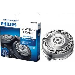 photo de Philips SH50/50 tête de rasoir pour rasoir électrique Philips Séries 5000 AquaTouch