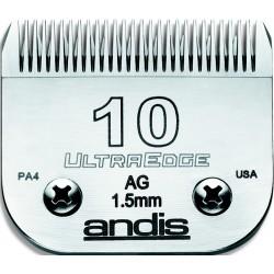 photo de Lame 1.5mm N°10 ANDIS, tête de coupe TC64071 pour tondeuse PRO AGC/AGR/BGC/MBG/SMC