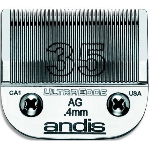 photo de Lame 0.40 mm N°35 ANDIS, tête de coupe TC64935 pour tondeuse PRO AGC/AGR/BGC/MBG/SMC