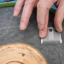 photo de Affutage de tête de coupe, lame de tondeuse chien