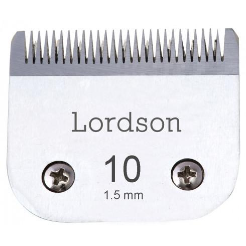 photo de Tête de coupe N°10 de 1.5mm LORDSON pour tondeuse PRO LORDSON/ANDIS/MOSER/OSTER