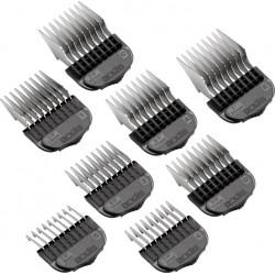 Jeu 8 sabots magnétiques pour tondeuse ANDIS, MOSER, LORDSON