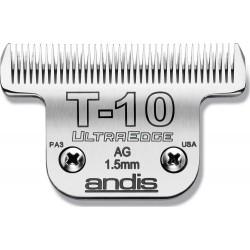 photo de Lame extra-large 1.5 mm N° T10 ANDIS, Tête de coupe TC22305 pour tondeuse PRO AGC/AGR/BGC/MBG/SMC